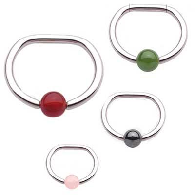 PRE-ORDER Steel D-ring
