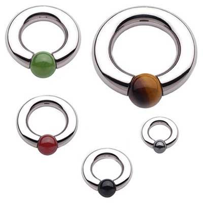 PRE-ORDER Steel round tip captive