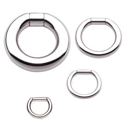 PRE-ORDER Steel Captive Bar Ring