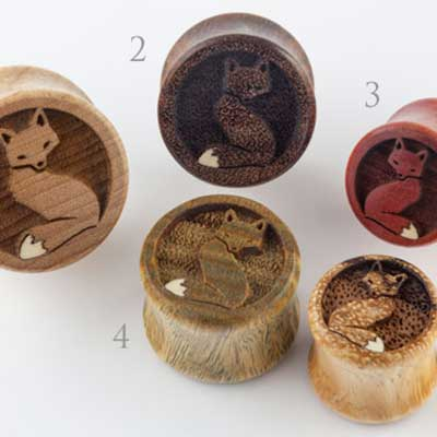 Wood Fox Plugs