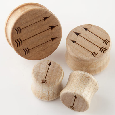 Wood Arrow Plugs