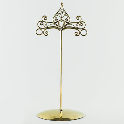 Brass Jewelry Stand