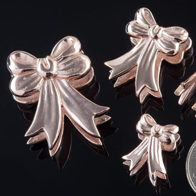 Rose Gold Plated Ribbon Weights