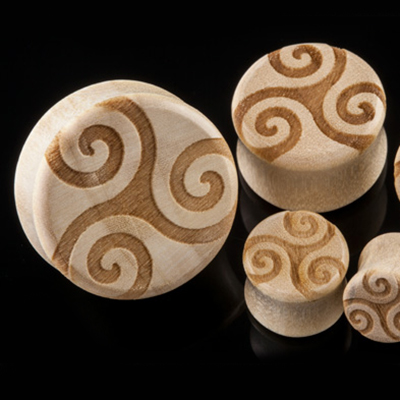 Crocodile Wood Trinity Plugs