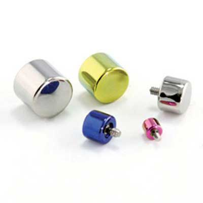 PRE-ORDER titanium piston threaded end