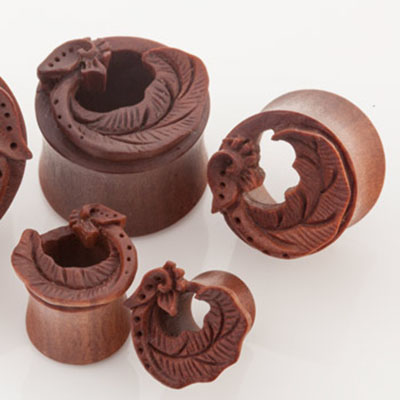 Sabo wood elvin wing plugs