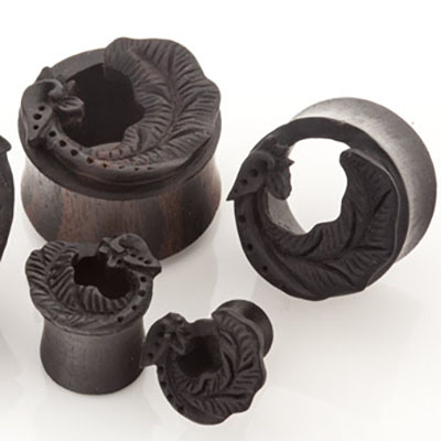 Arang wood elvin wing plugs