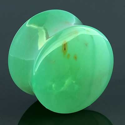 Chrysoprase Plugs