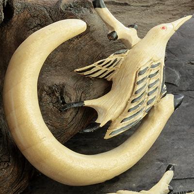 Crocodile Wood Bird Design