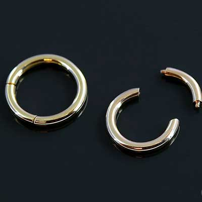 14k Yellow Gold Segment Ring