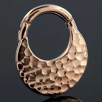 PRE-ORDER 14k Rose Gold the Hammer Clicker