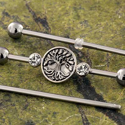 Tree of Life Industrial Barbell Set