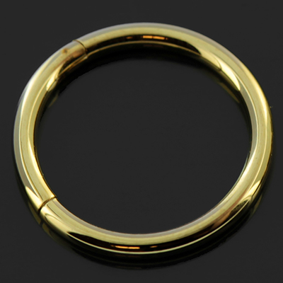 Gold Colored Septum Clicker