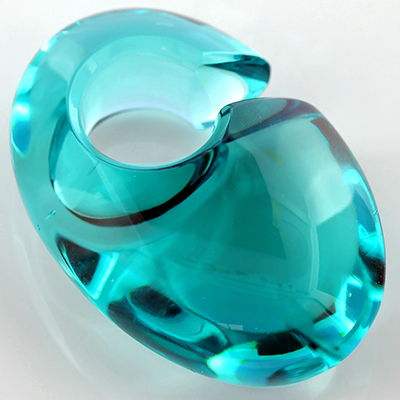 Solid Color Ovoid Weights (Turquoise)