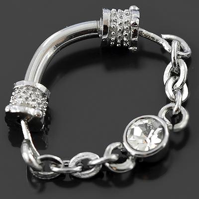 Gemmed septum chain