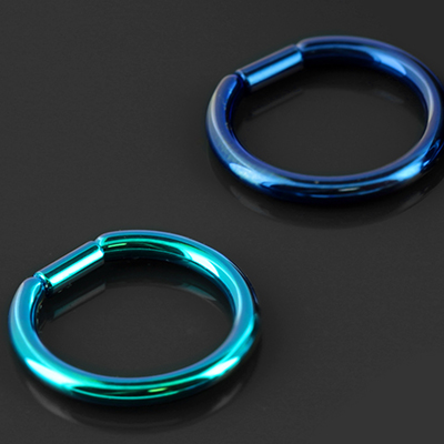 Titanium Captive Bar Ring