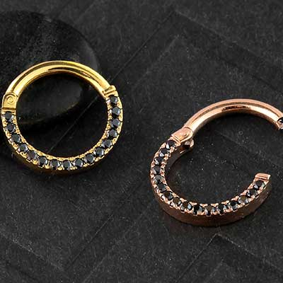 14k Gold Plated Eternity Clicker