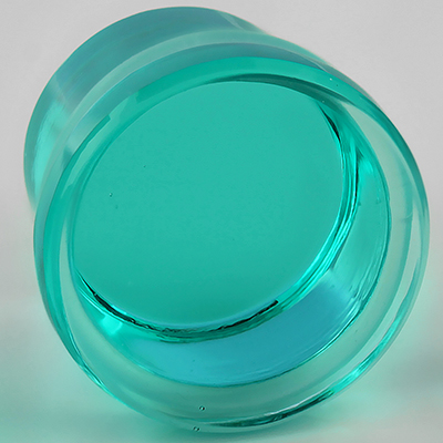 Single Flare Solid Color Plugs (Turquoise)