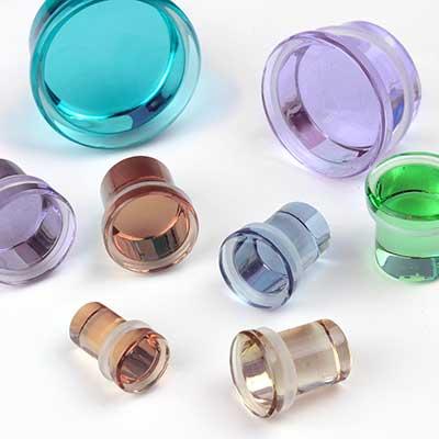 Single Flare Solid Color Plugs