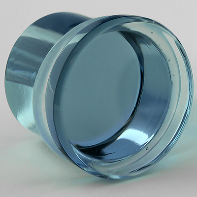 Single Flare Solid Color Plugs (Indigo)