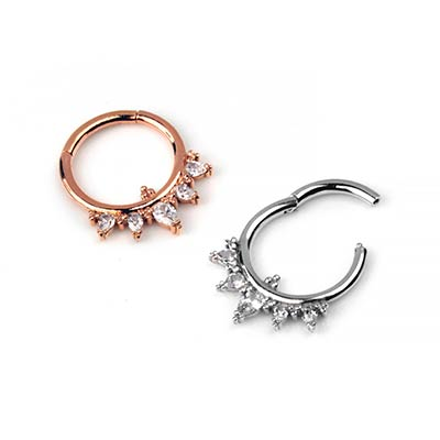 14K Gold Taja Septum Clicker