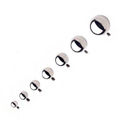 PRE-ORDER Steel Ball Threaded End