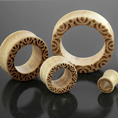 Curly Maple Lotus Eyelets