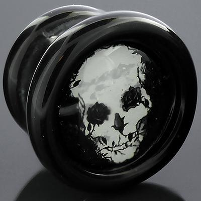 Rose Skull Plug