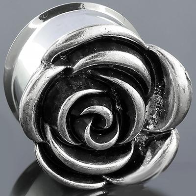 Steel rose plug