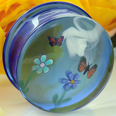 Pyrex Glass Landscape Plugs
