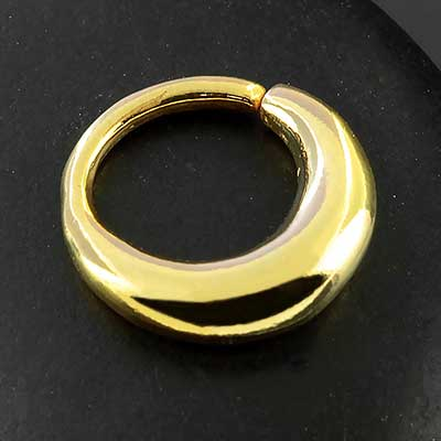 Thick Seamless Septum Ring