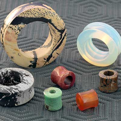 Stone and Glass Eyelets