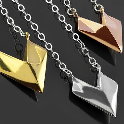 Sunken Arrow Necklace