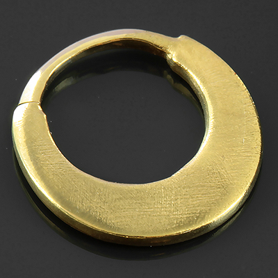 14k Gold Plated Blade Seamless Ring