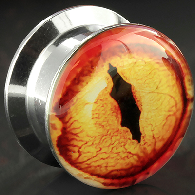 Screwfit dragon eye plugs