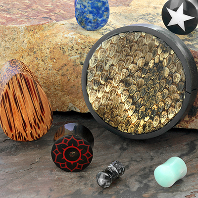 Clearance Blemished Organic Plugs Grab Bag