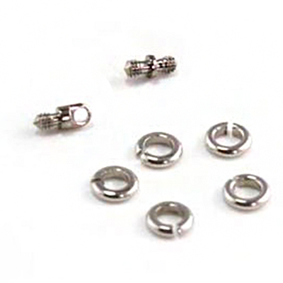 PRE-ORDER Titanium threaded eye and double sided threads