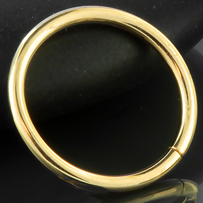 14k Gold Seamless Ring