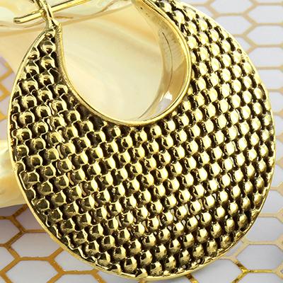 Solid brass Eclypse canvas ball hoop weights