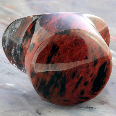 Mahogany Obsidian Labret