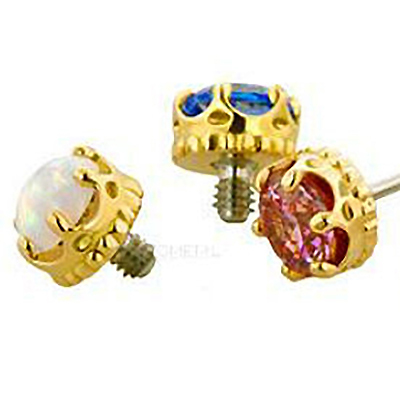 PRE-ORDER 18k Gold Queen End