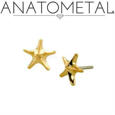 PRE-ORDER 18k gold sea star