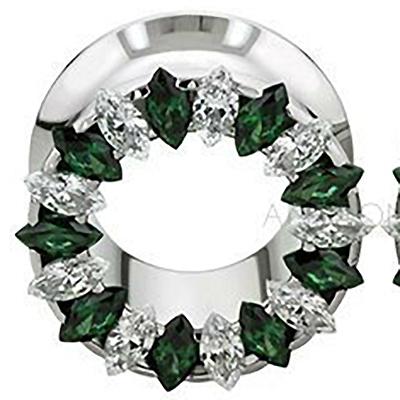 PRE-ORDER Steel Marquis eyelet