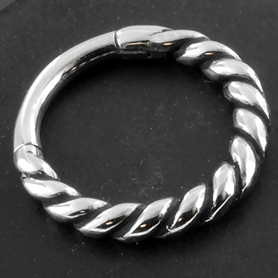 Twisted Wire Clicker Ring