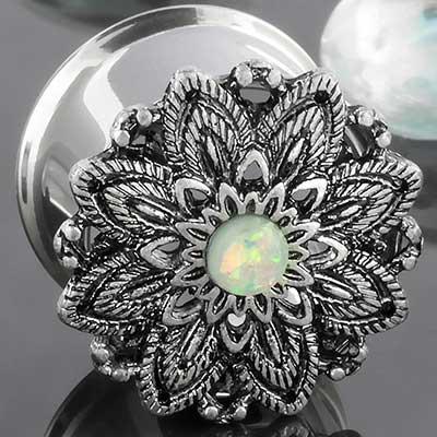 Opal Lotus Flower Eyelet