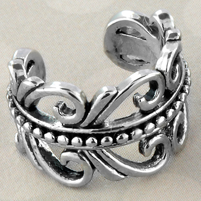 Ornate Swirl Ear Cuff