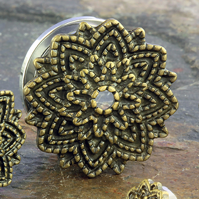 Brass Mandala Plug