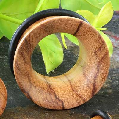Single Flare Wood Eyelet