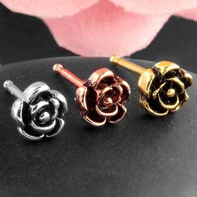 Vintage Rose Nosebone