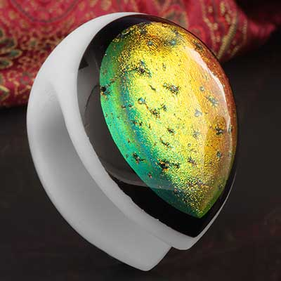 Glass Dichroic Shield Weights